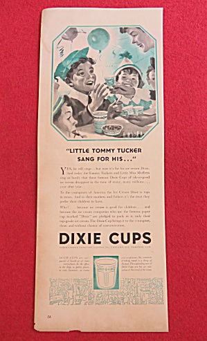Vintage Ad: 1941 Dixie Cups