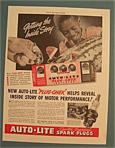 Vintage Ad: 1941 Auto - Lite Spark Plugs (Image1)