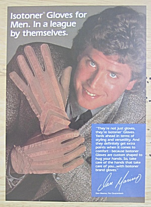1988 Isotoner Gloves with Football's Dan Marino  (Image1)