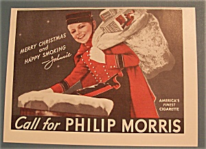 Vintage Ad: 1939 Philip Morris with Johnnie (Image1)