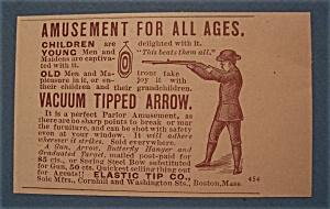 Vintage Ad: 1888 Vacuum TIpped Arrow (Image1)