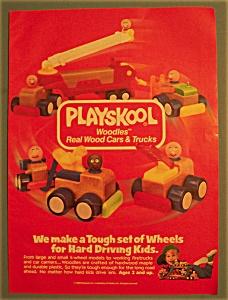 Vintage Ad: 1988 Playskool Woodles (Image1)