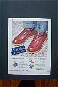 1947 John C. Roberts Shoes with Pair of Shoes (Image1)