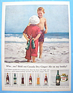 Vintage Ad: 1957 Canada Dry Ginger Ale (Image1)