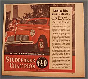 Vintage Ad: 1940 Studebaker Champion (Image1)