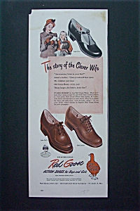 1947 Red Goose Shoes with Mother & Children  (Image1)