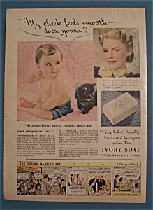 Vintage Ad: 1940 Ivory Soap