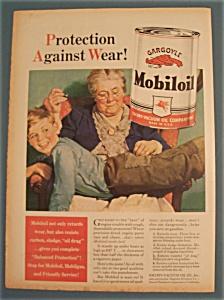 Vintage Ad: 1940 Gargoyle Mobiloil (Image1)
