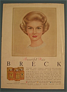 Vintage Ad: 1961 Breck Shampoo (Image1)