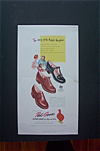 1947 Red Goose Shoes with 2 Women & Little Girl  (Image1)