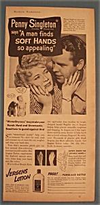 Vintage Ad: 1939 Jergens Lotion w/Penny Singleton (Image1)