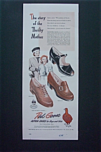 1947 Red Goose Shoes with Woman & Girl (Image1)