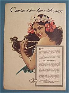 Vintage Ad: 1936 Listerine (Image1)