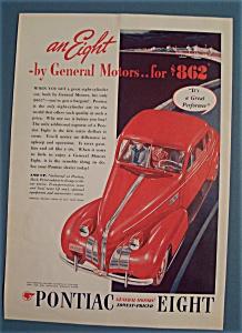 Vintage Ad: 1939 Pontiac Eight (Image1)
