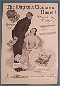 Vintage Ad: 1939 Whitman's Sampler (Image1)