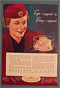 Vintage Ad: 1939 Monsanto Plastics (Image1)