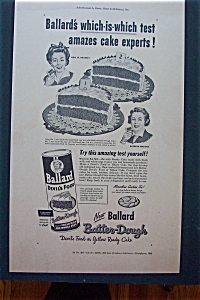 1948 Ballard Batter Dough w/2 Women & 2 Half Cakes (Image1)