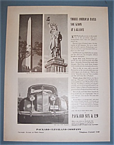 Vintage Ad:1939 Packard Six & 120