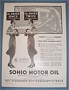 Vintage Ad:1932 Sohio Motor Oil (Image1)