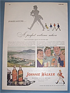 Vintage Ad: 1948 Johnnie Walker Whiskey (Image1)