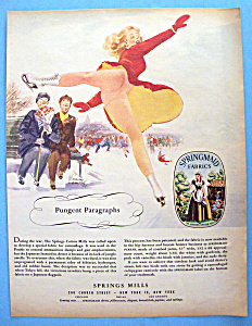 Vintage Ad: 1948 Springmaid Fabrics (Image1)