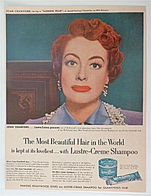 1952 Lustre Creme Shampoo with Joan Crawford (Image1)