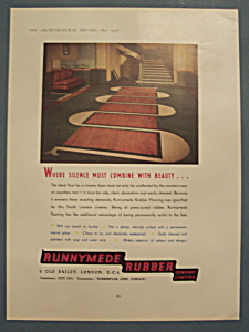 Vintage Ad: 1938 Runnymede Rubber Company (Image1)