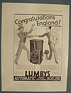 Vintage Ad: 1937 Lumby's Automatic Boiler