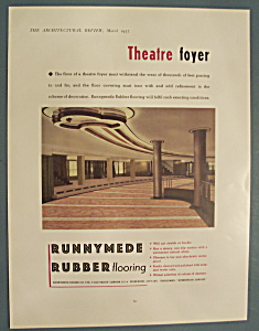 Vintage Ad: 1937 Runnymede Rubber Company