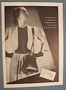 Vintage Ad: 1946 Jenny Bags