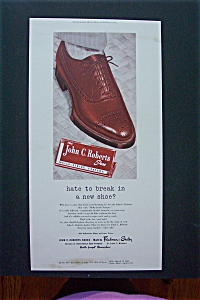1948 John C. Roberts Shoes with Featuring a Shoe (Image1)