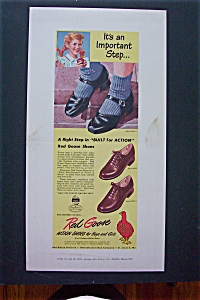 1948 Red Goose Shoes with 3 Different Styles of shoes  (Image1)