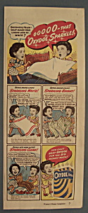 Vintage Ad: 1947 Oxydol Laundry Detergent