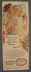 Vintage Ad: 1947 Cashmere Bouquet (Image1)