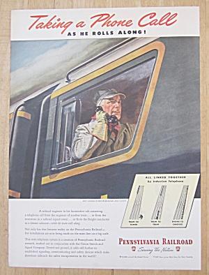 1945 Pennsylvania Railroad w/ Engineer on the Telephone (Image1)