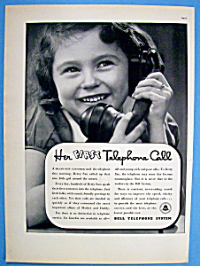 Vintage Ad: 1937 Bell Telephone System (Image1)