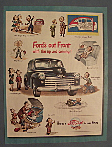 Vintage Ad: 1947 Ford Automobile