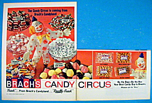 1965 Brach's Candy With Clown & Mints, Bon Bons & More