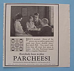 Vintage Ad: 1923 Parcheesi (Image1)