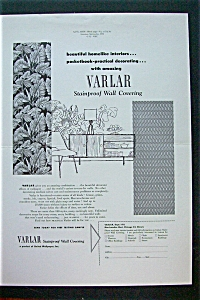 1952 Varlar Stainproof Magazine Proof w/Wall Coverings (Image1)