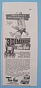 Vintage Ad: 1953 Tru Vue w/ Donald Duck (Image1)