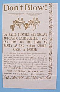 Vintage Ad: 1895 American Burner Co. (Image1)