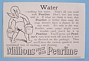 Vintage Ad: 1895 Pearline (Image1)