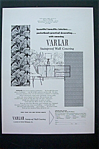 1952 Varlar Stainproof Wall Covering w/ Wall Coverings (Image1)
