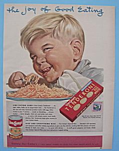 Vintage Ad: 1953 Van Camp's Tenderoni (Image1)