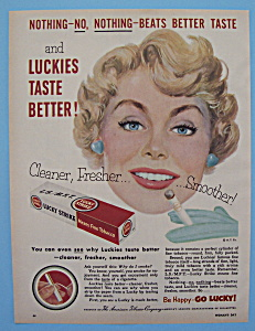 Vintage Ad: 1953 Lucky Strike Cigarettes