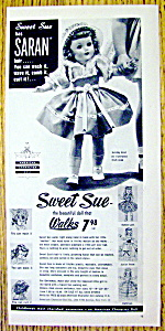 Vintage Ad: 1953 Sweet Sue The Doll That Walks
