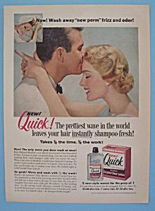 Vintage Ad: 1957 Richard Hudnut Quick Lotion (Image1)