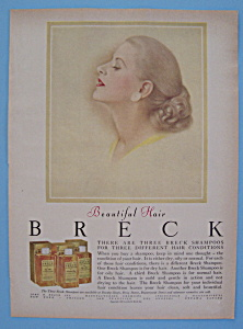 1957 Breck Shampoo with Woman's Side View (Image1)