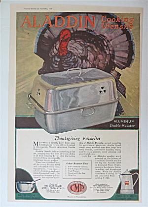 1920 Aladdin Aluminium Double Roaster with Turkey  (Image1)